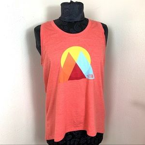 The North Face Tank top peach size L